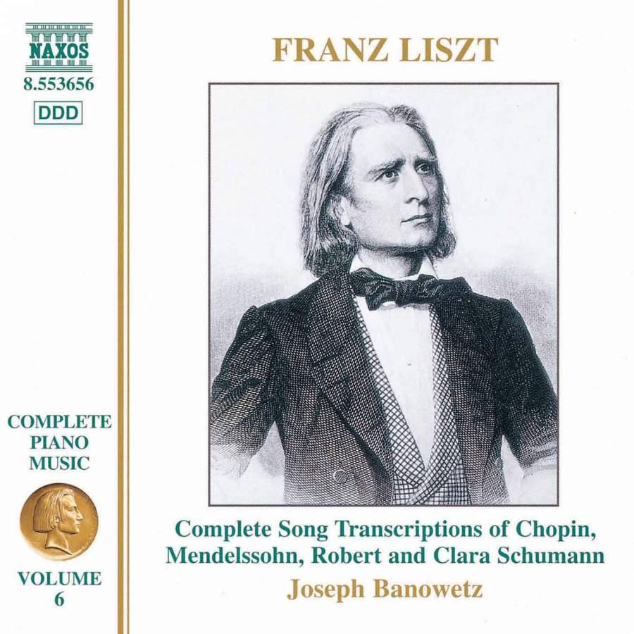 Liszt - Joseph Banowetz Piano Music Volume 6 Vinyl