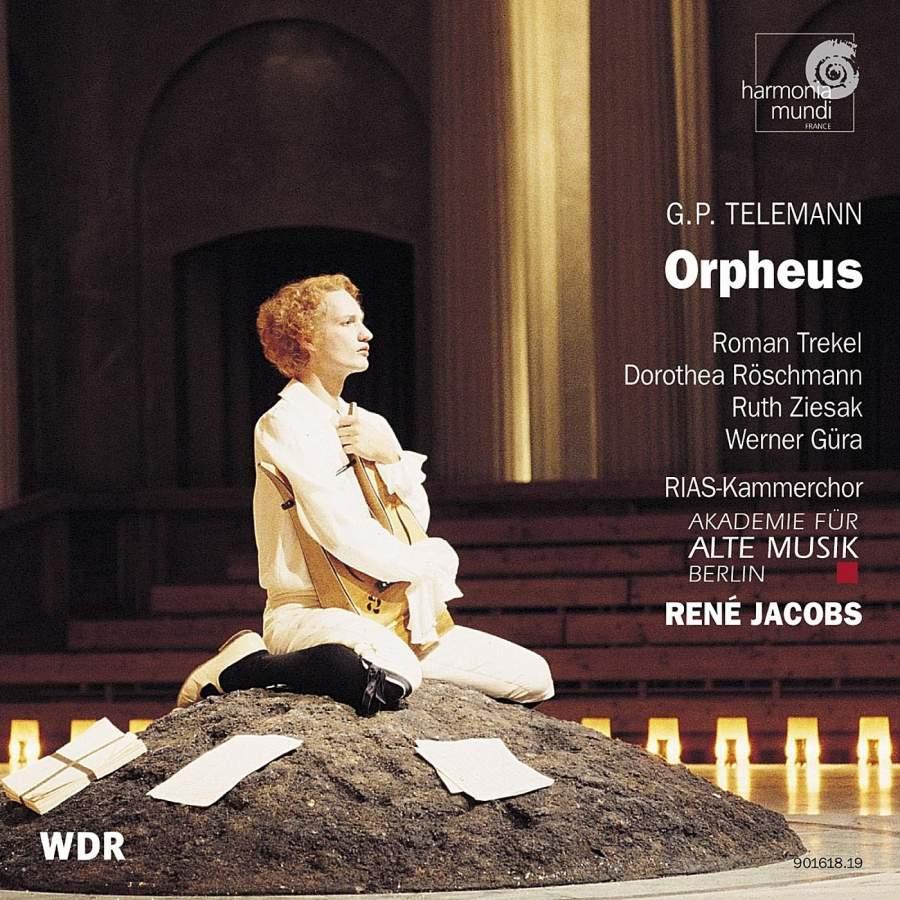 Telemann - Roman Trekel, Dorothea Röschmann, Ruth Ziesak, Werner Güra, RIAS-Kammerchor, Akademie Für Alte Musik Berlin, René Jacobs Orpheus Vinyl
