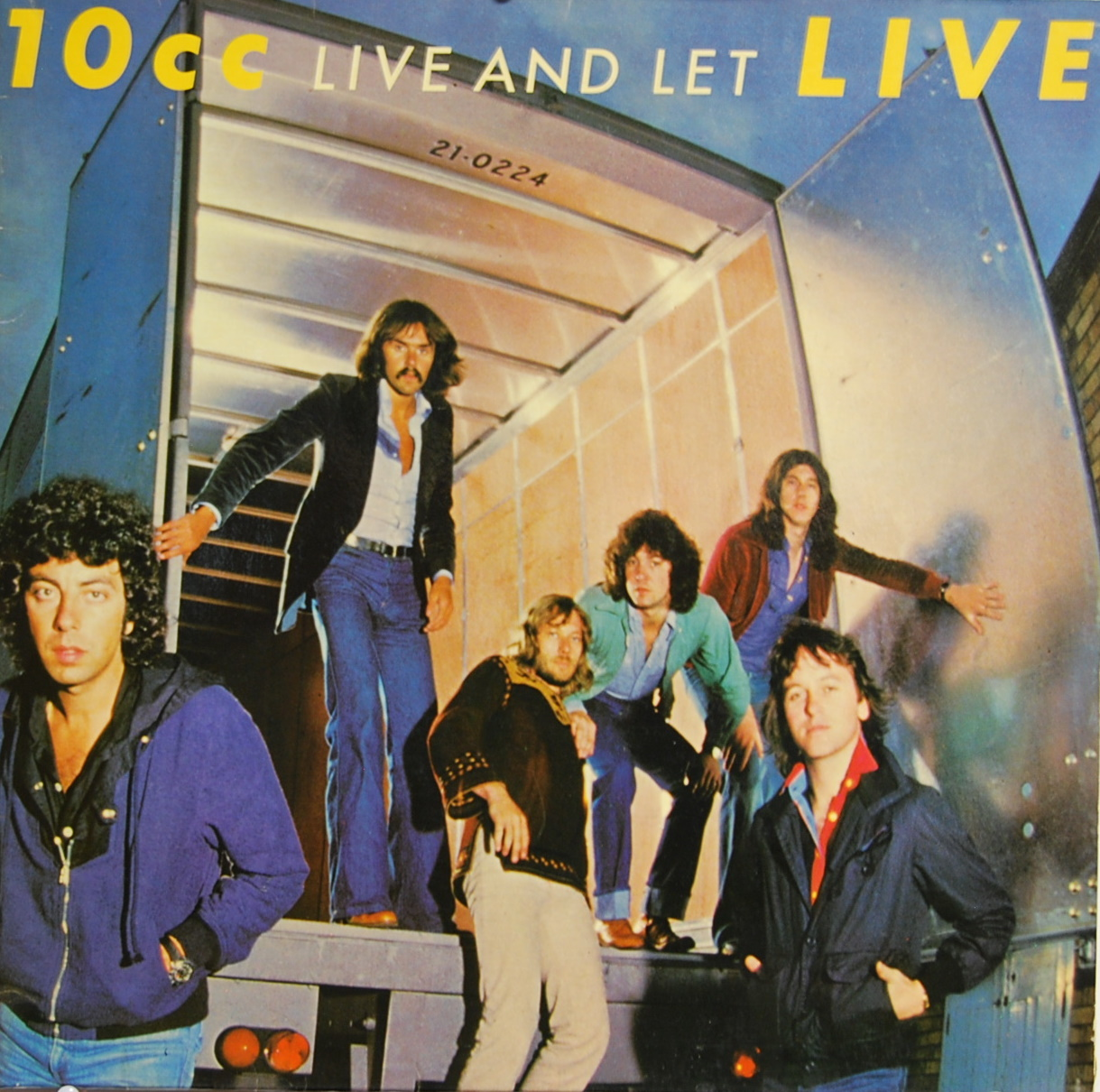 10cc Live And Let Live Vinyl