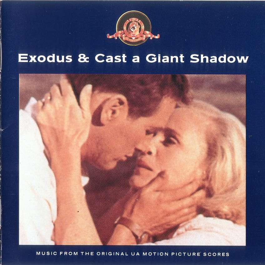 The Hollywood Studio Orchestra Exodus & Cast A Giant Shadow CD
