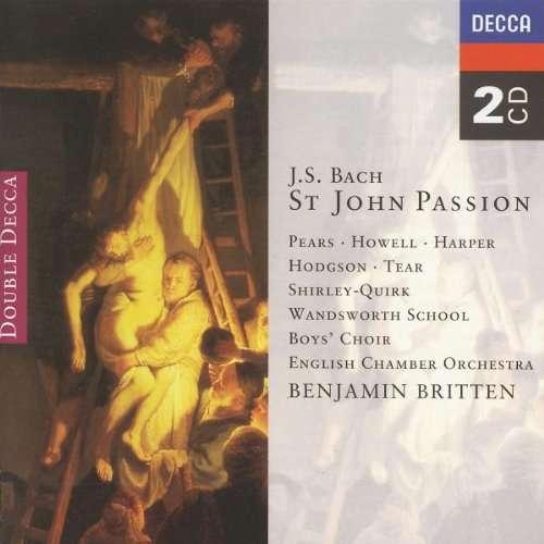 Bach - Pears, Howell, Harper, Hodgson, Tear, Shirley-Quirk, Benjamin Britten St John Passion