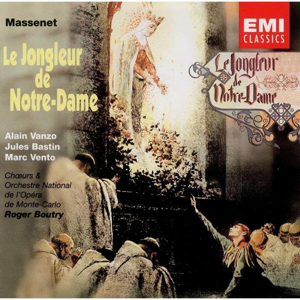 Massenet - Alain Vanzo, Jules Bastin, Marc Vento, Roger Boutry Le Jongleur de Notre-Dame Vinyl