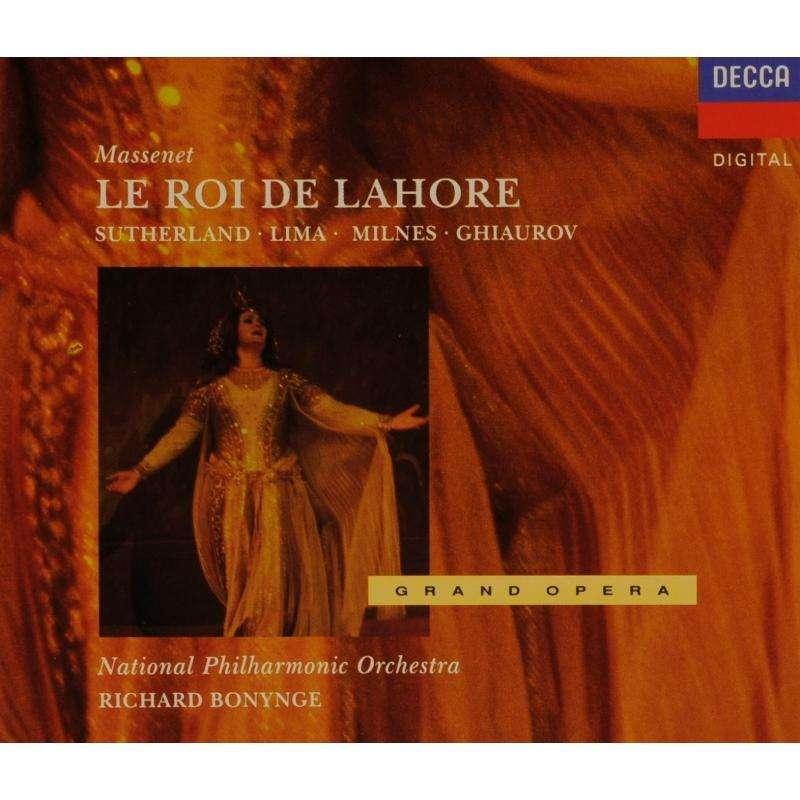 Massenet - Sutherland, Lima, Milnes, Ghiaurov, National Philharmonic Orchestra, Richard Bonynge Le Roi de Lahore Vinyl