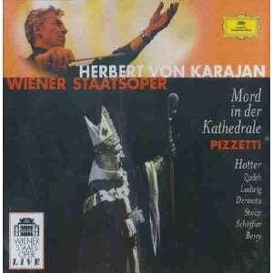 Pizzetti - Herbert von Karajan, Hotter, Zadek, Ludwig, Dermota, Stolze, Schoffler, Berry Muder In The Cathedral / Mord in der Kathedrale Vinyl