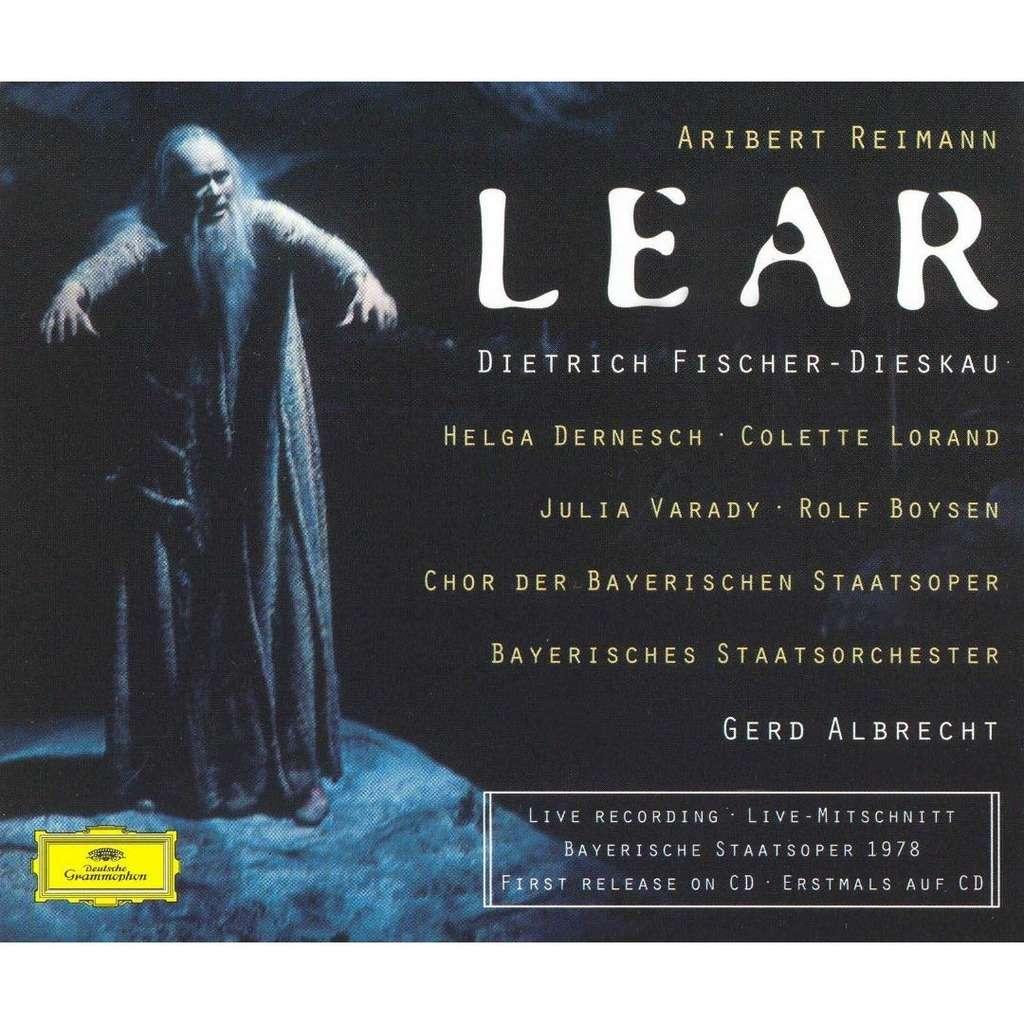Reimann - Dernesch, Lorand, Varady, Boysen, Gerd Albrecht Lear Vinyl