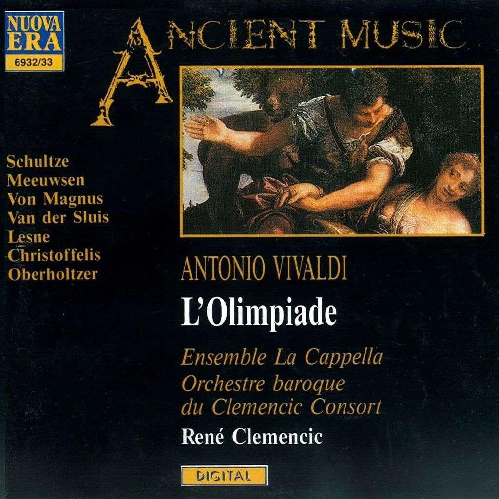 Vivaldi - Schultze, Meeuwsen, Von Magnus, Van der Sluis, Lesne, Christoffelis, Oberholtzer L'Olimpiade