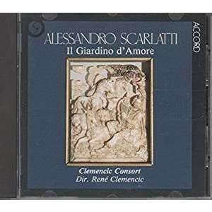 Scarlatti - Rene Clemencic, Akerlund, Ragin Il Giardino d'Amore Vinyl