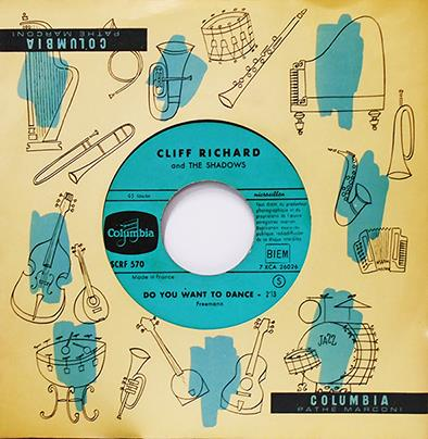 Richard, Cliff And The Shadows Do You Want To Dance / I'm Looking Out The Windows  Vinyl