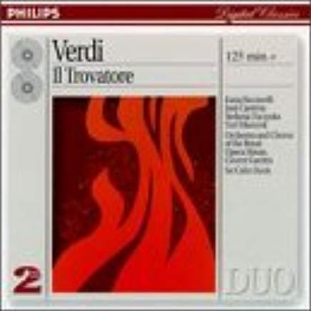 Vincent, Verdi - Ricciarelli, Carreras, Toczyska, Masurok, Colin Davis Il Trovatore