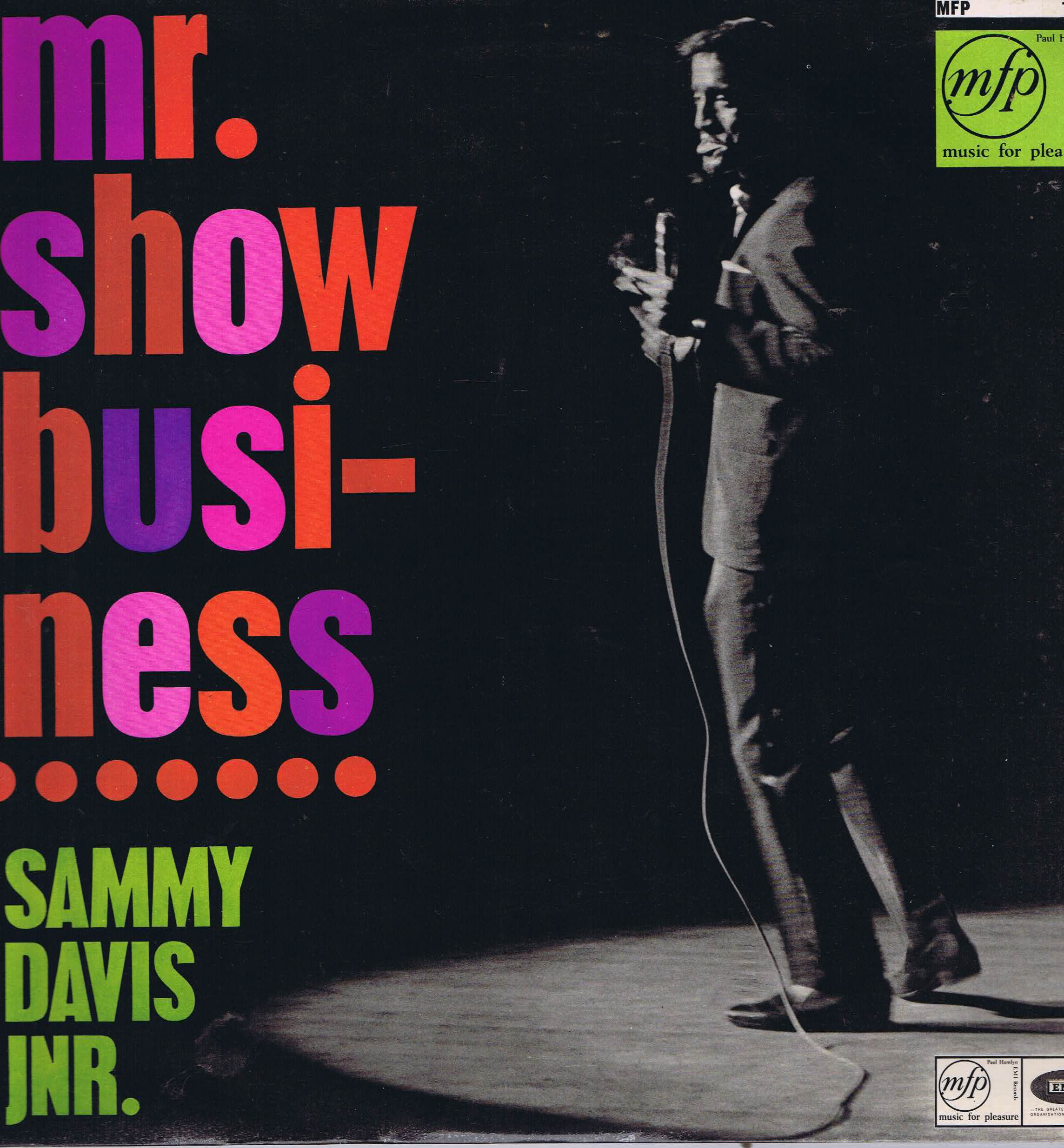 Sammy Davis Jr. Mr Show-Business Vinyl