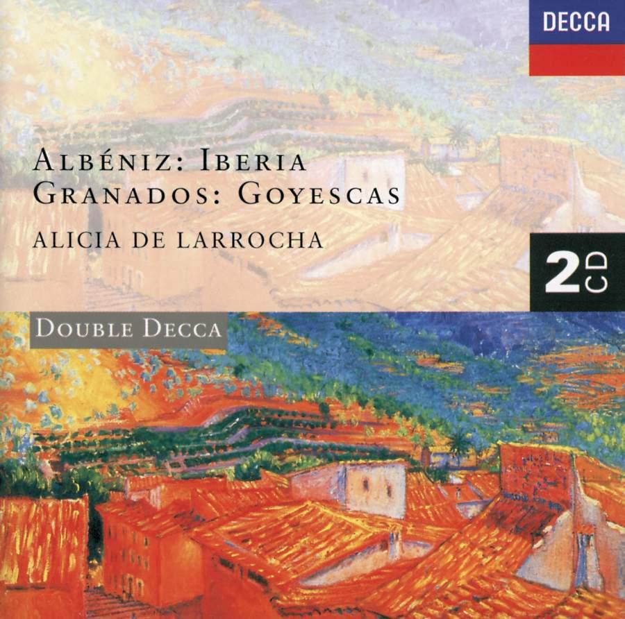 Albeniz / Granados - Alicia De Larrocha Iberia / Goyescas Vinyl