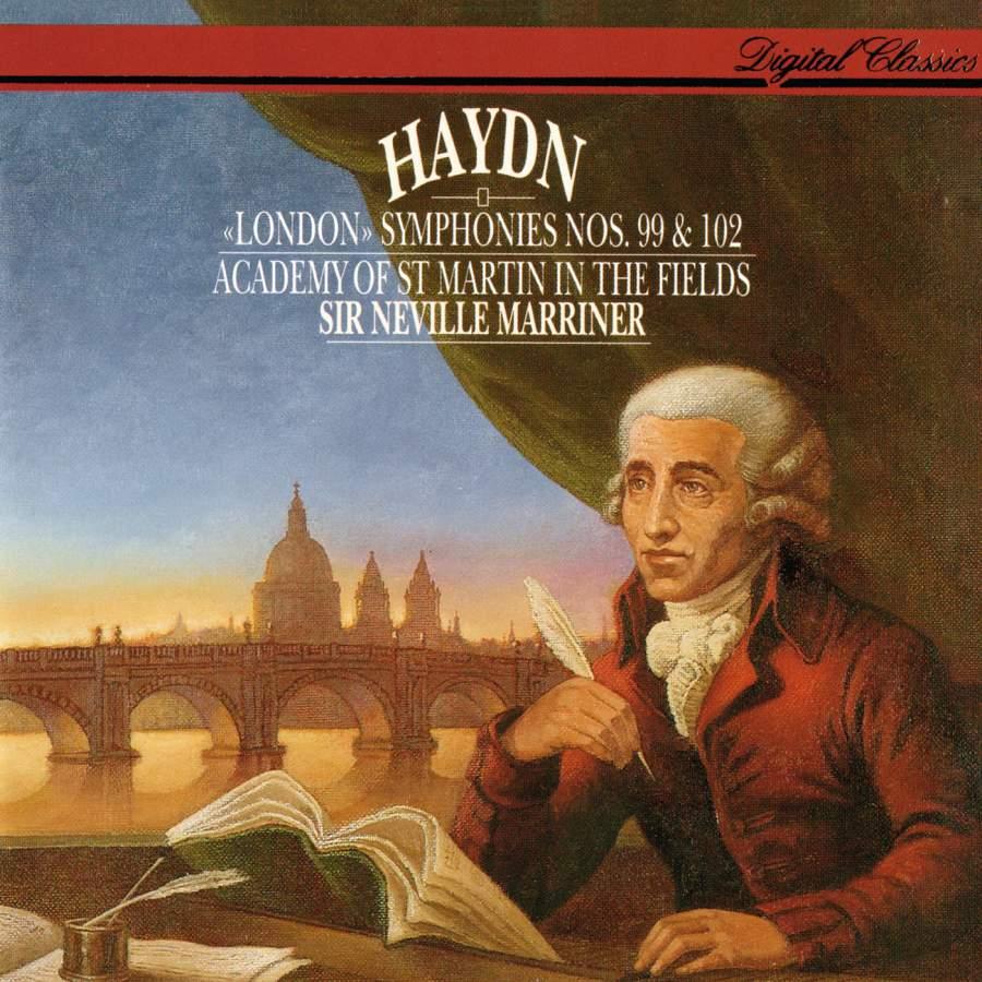 Haydn - Neville Marriner Symphonies Nos. 99 & 102