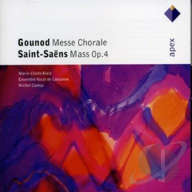 Gounod / Saint-Saens - Marie-ClaireAlain, Michel Corboz Messe Chorale / Mass Op. 4