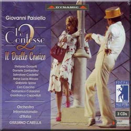 Paisiello - Donzelli, Zanfardino, Cordella, Alessio, Spina, Cascina, Colaianni, Cappelluti, Giuliano Carella Le Contesse CD