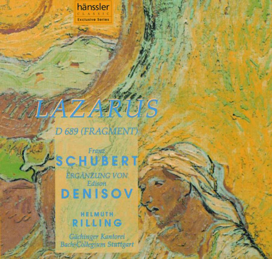 Schubert - Denisov, Helmuth Rilling Lazarus