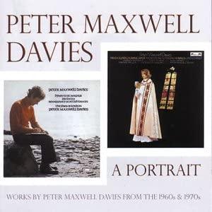 Davies, Peter Maxwell A Portrait Vinyl