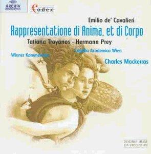 Cavalieri - Tatiana Troyanos, Hermann Prey, Charles Mackerras Rappresentatione di Anima, et di Corpo Vinyl