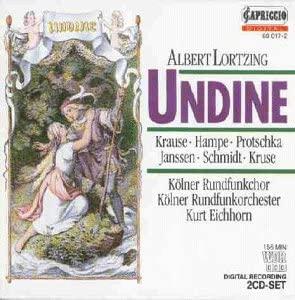Lortzing - Krause, Hampe, Protschka, Janssen, Schmidt, Kruse, Kurt Eichorn Undine Vinyl