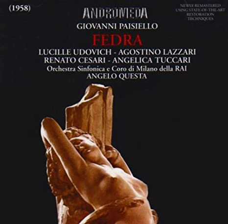 Paisiello - Udovich, Lazzari, Cesari, Tuccari, Angelo Questa Fedra CD