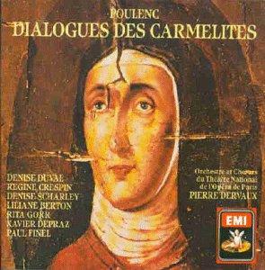 Poulenc - Georges Bernanos, Chœurs Et Orchestre Du Théâtre National De L'Opéra, Pierre Dervaux Dialogues Des Carmélites Vinyl