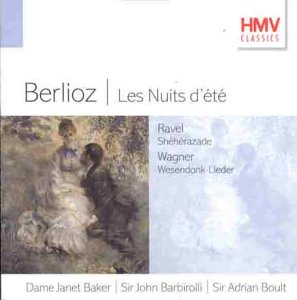 Berlioz, Ravel, Wagner Les Nuits d'ete