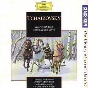 Tchaikovsky - Evgeny Mravinsky, Herbert von Karajan Symphony No. 5 / Nutcracker Suite Vinyl