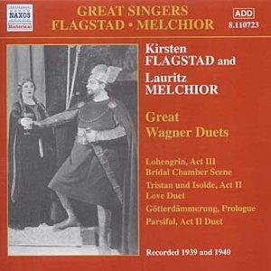 Wagner, Kirsten Flagstad, Lauritz Melchior Great Singers - Flagstad / Melchior CD