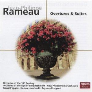 Rameau - Frans Bruggen, Gustav Leonhardt, Raymond Leppard Overtures & Suites Vinyl