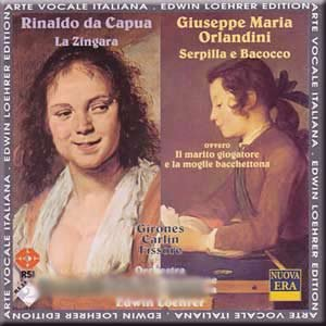 Capua / Orlandini - Girones, Carlin, Fissore, Edwin Loehrer La Zingara / Serpilla e Bacocco Vinyl