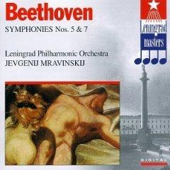Beethoven - Jevgenij Mravinskij Symphonies Nos. 5 & 7 CD