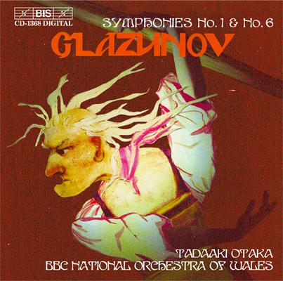 Glazunov - Tadaaki Otaka Symphonies No. 1 & No. 6