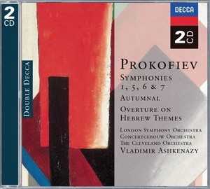 Prokofiev - Vladimir Ashkenazy Symphonies 1, 5, 6 & 7