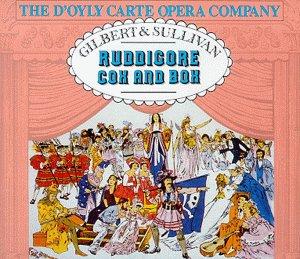 Gilbert & Sullivan - The D'Oyly Carte Opera Company, Isidore Godfrey Ruddigore / Cox And Box