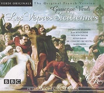 Verdi - Brumaire, Bonhomme, Taylor, Baran, Mario Rossi Les Vepres Sicliennes