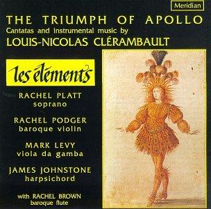 Clerambault - Rachel Platt, Rachel Podger, Mark Levy, James Johnstone, Rachel Brown The Triumph Of Apollo Vinyl