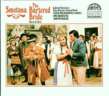 Smetana - Benackova, Dvorsky, Novak, Zdenek Kosler The Bartered Bride