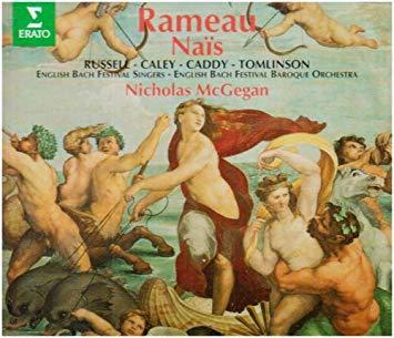 Rameau - Russell, Caley, Caddy, Tomlinson, Nicholas McGegan Nais Vinyl