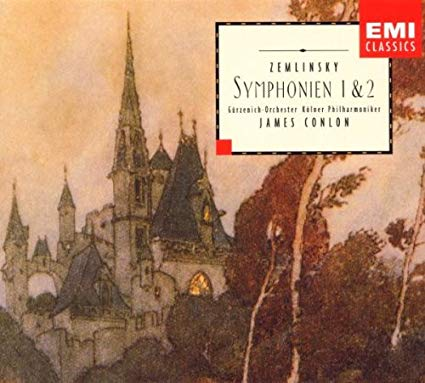 Zemlinsky - James Conlon Symphonien 1 & 2 CD