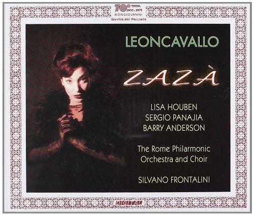 Leoncavallo - Lisa Houben, Sergio Panajia, Barry Anderson, Silvano Frontalini Zaza Vinyl