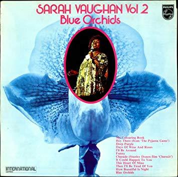 Vaughan, Sarah Sarah Vaughan Vol 2 (Blue Orchids) Vinyl