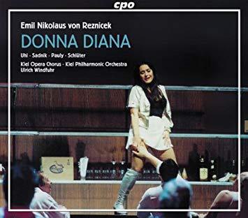 Reznicek - Uhl, Sadnik, Pauly, Schluter, Ulrich Windfuhr Donna Diana Vinyl