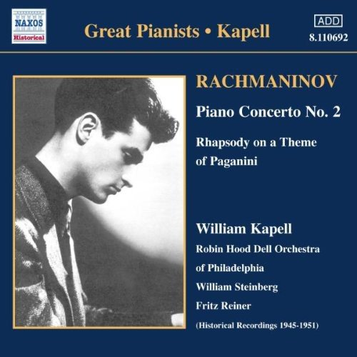 Rachmaninov, William Kapell Great Pianists - Kapell