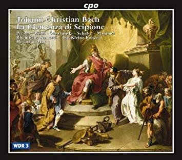 Bach - Perillo, Wolff, Waschinski, Schafer, Mammel, Hermann Max La Clemenza di Scipione Vinyl