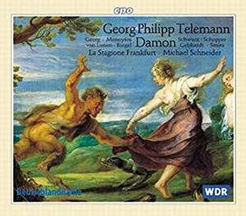 Telemann - Georg, Monoyios, van Lunen, Biegel, Schwarz, Schopper, Gebhardt, Smits, Michael Schneider Der neumodische Liebhaber Damon Vinyl