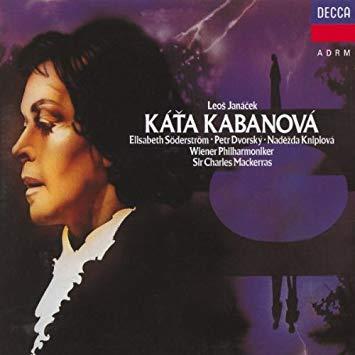 Janacek - Söderström, Dvorský, Kniplová, Wiener Philharmoniker, Mackerras Káťa Kabanová
