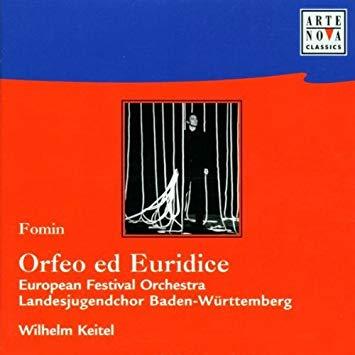 Fomin - European Festival Orchestra, Wilhelm Keitel Orfeo ed Euridice Vinyl
