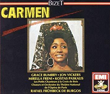 Bizet - Grace Bumbry, Les Petits Chanteurs A La Croix De Bois, Rafael Frühbeck De Burgos, Chœurs Et Orchestre Du Théâtre National De L'Opéra De Paris Carmen