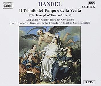 Handel - McFadden, Scholl, Hariades, Abilgaard, Junge Kantorei, Joachim Carlos Martini Il Trionfo del Tempo e della Verita Vinyl