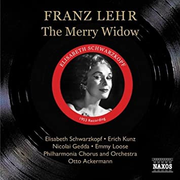 Lehar - Schwarzkopf, Kunz, Gedda, Loose, Otto Ackermann The Merry Widow