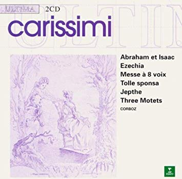 Carissimi - Michel Corboz Oratorios/Mass/Motets Vinyl